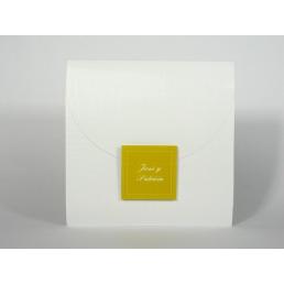 Invitación elegante impresión Verde