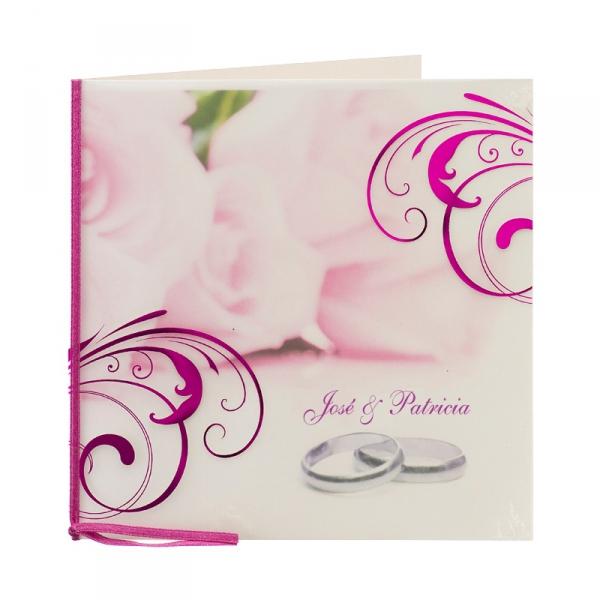 Invitación combinación de Rosas