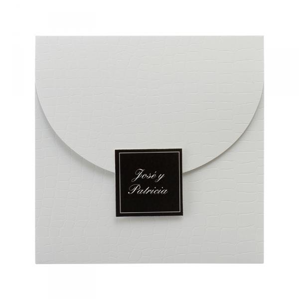 Invitación elegante impresión