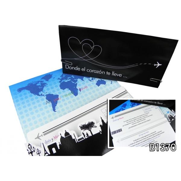 Invitación Corazón Viajero