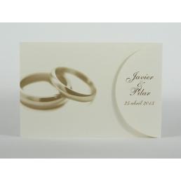 Invitación de boda Compromiso