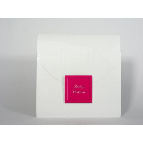 Invitación elegante impresión Rojo
